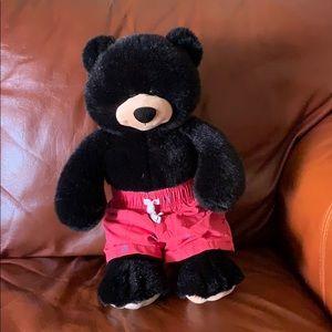 Shiny black Build-a-bear